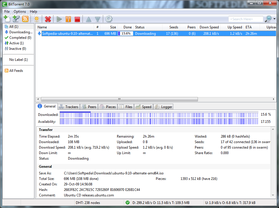 برنامج تحميل الملفات من التورنت BitTorrent 7.9.2 Build 39745 احدث اصدار